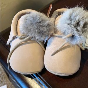 Other - Pair of NWT Baby Moccasins- Size 6-12 mo